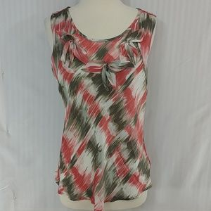 New Larry Levine Shell Top Medium Blush Taupe